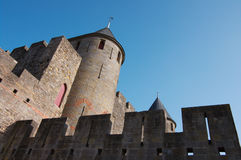 Walls Of Carcassonne Stock Image