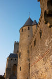Walls Of Carcassonne Royalty Free Stock Photo