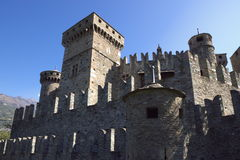 Walls Of Castle Royalty Free Stock Photo