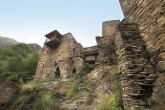 Free Walls Of Towers In Shatili Village, Georgia Stock Photos - 160011083