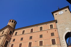 Walls of the old castle Royalty Free Stock Photography