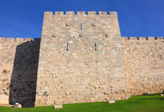 Walls of old city Stock Images