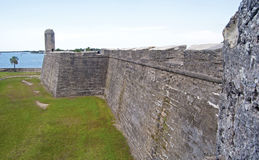 Walls of an old fort Royalty Free Stock Photography