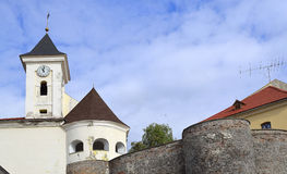 Walls old fortress Royalty Free Stock Image