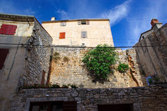 Walls of old town in Bale Royalty Free Stock Photography