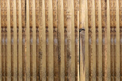 Walls of the old wooden fence. Stock Photography