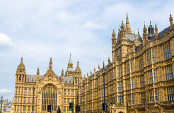Walls of the Palace of Westminster Royalty Free Stock Photos