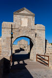 Walls of Pamplona Stock Image