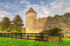 Walls of Parkes Castle. In County Leitrim, Ireland Royalty Free Stock Photos