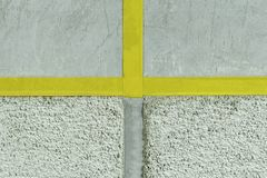 Walls. plaster applied to it. composition of small stones. and in a special way pounded. devide into two parts. on the other side. Of the beaton. in the center stock photo