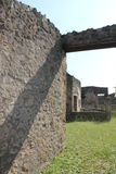 Walls of Pompeii Stock Image