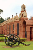 Walls of President Palace Delhi Royalty Free Stock Image