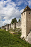Walls in Provins Royalty Free Stock Photos