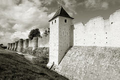 Walls in Provins Royalty Free Stock Photography