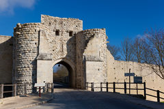 Walls of Provins Stock Photos