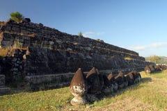 Walls on Ratuboko Castle Royalty Free Stock Photo