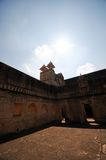 Walls of the Red fort Jaipur Royalty Free Stock Image