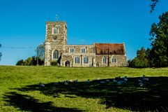 Soulbury church Buckinghamshire Royalty Free Stock Photography