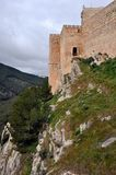 Santa Catalina Castle in Jaen, Andalusia, Spain Royalty Free Stock Photo
