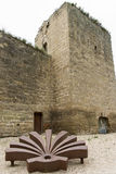 Walls of Santo Domingo de la Calzada, La Rioja. Spain. Royalty Free Stock Photography