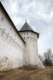 Walls. Savvino-Storozhevsky monastery. Zvenigorod, Russia. Royalty Free Stock Images