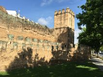 The Walls of Seville Royalty Free Stock Images