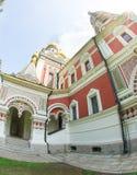 The walls of the Shipka Monastery Royalty Free Stock Photo