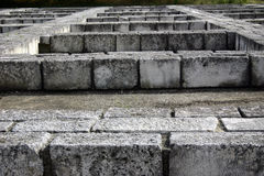 Walls of stone blocks Royalty Free Stock Image