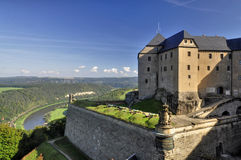 Walls strength Königstein Royalty Free Stock Photo