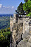 Walls strength Königstein Royalty Free Stock Image