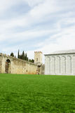 Walls surrounding the Field of Miracles Royalty Free Stock Image