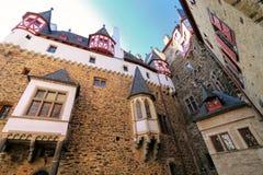 Free Walls Surrounding Inner Courtyard Of Eltz Castle In Rhineland-Palatinate, Germany Stock Photo - 101710450