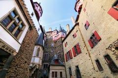 Free Walls Surrounding Inner Courtyard Of Eltz Castle In Rhineland-Palatinate, Germany Stock Photo - 101710800