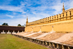 Walls of the temple. Royalty Free Stock Photography