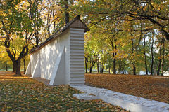 Walls of Tsar's Courtyard. Kolomenskoye, Moscow Stock Photos