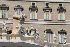 Walls of Vatican, St. Peters Square Royalty Free Stock Images