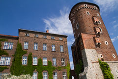 Walls of the Wavel Castle Stock Image