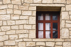 Walls and windows Royalty Free Stock Photography