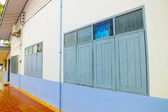 walls windows στοκ εικόνα