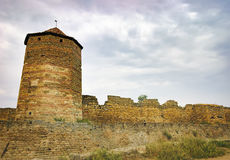 Walls and windows of Fortress Akkerman in Ukraine Royalty Free Stock Image