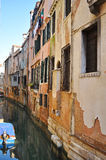 Walls and windows in Venice Royalty Free Stock Photography