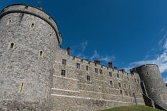 Walls of Windsor Castle Royalty Free Stock Photography