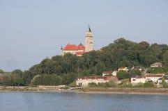Wallsee-Schloss Stockfoto