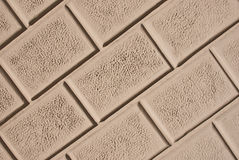 Wallstone with cement comment. Texture background royalty free stock photo