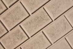 Wallstone met cementcommentaar. De achtergrond van de textuur Royalty-vrije Stock Foto