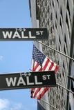 wallstreet york США штока обменом новое Стоковое Изображение