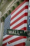 wallstreet york США штока обменом новое Стоковая Фотография RF