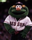 Wally das grüne Monster, Fenway Park Lizenzfreie Stockfotos