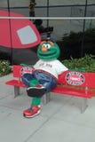 Wally il mostro verde allo stadio di JetBlue in Fort Myers, Florida Fotografia Stock Libera da Diritti