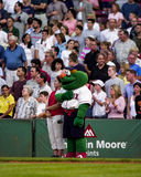 Wally o monstro verde Imagem de Stock